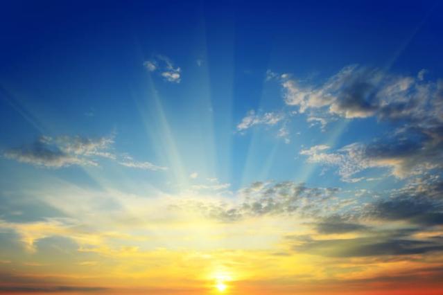 Sunrise on Easter