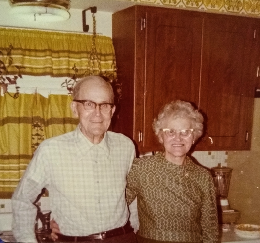 Betty Grandparents 1973